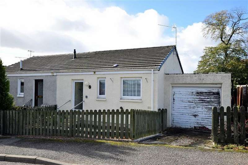 1 Bedroom Semi Detached Bungalow for sale in Firthview, Dingwall, Ross-shire
