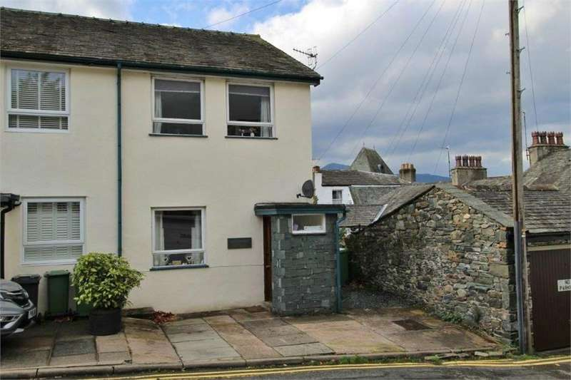 2 Bedrooms Semi Detached House for sale in Sunny Bank, 7 The Seams, Keswick, Cumbria