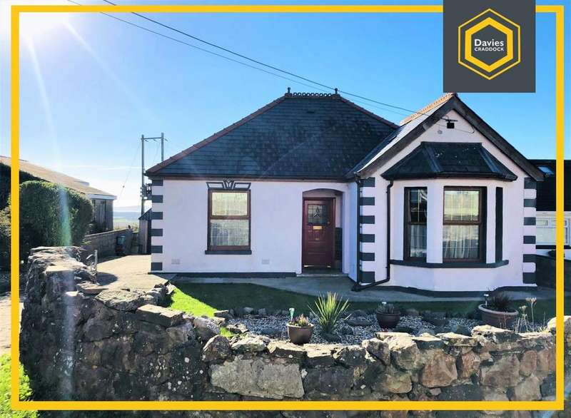 4 Bedrooms Detached Bungalow for sale in Heol Gwermont, Llansaint, Kidwelly, SA17