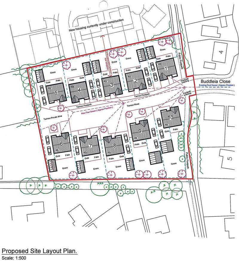 Plot Commercial for sale in DEVELOPMENT OPPORTUNITY, BUILDING LAND, LOCATED OFF BUDDLEIA CLOSE, HEALING, GRIMSBY