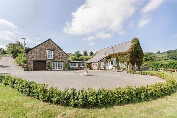 5 Bedrooms Detached House for sale in Llanelly Church, Abergavenny, Monmouthshire