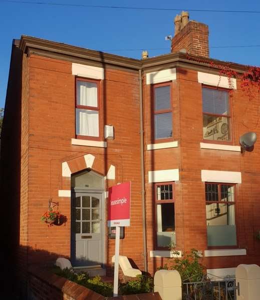 3 Bedrooms Semi Detached House for sale in Elmfield Road, Stockport, Greater Manchester, SK3