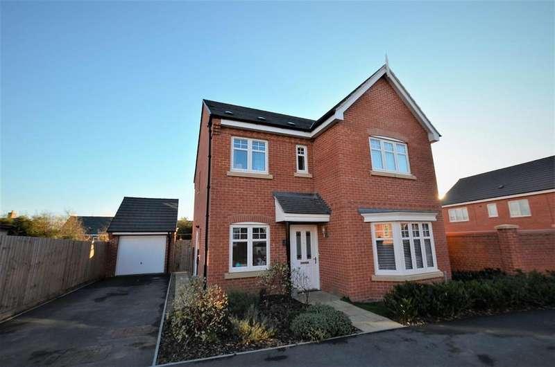 4 Bedrooms Detached House for sale in School Rise, Brailsford, Ashbourne, Derbyshire
