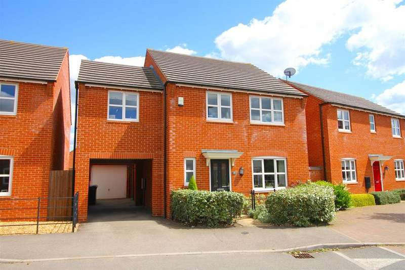 4 Bedrooms Detached House for sale in Usbourne Way, Ibstock