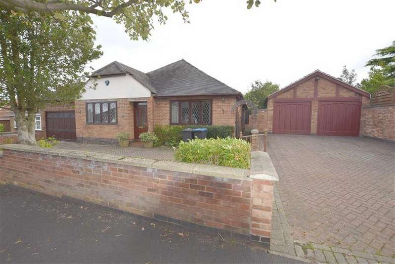 3 Bedrooms Detached Bungalow for sale in Hall Road, Burbage, Leicestershire
