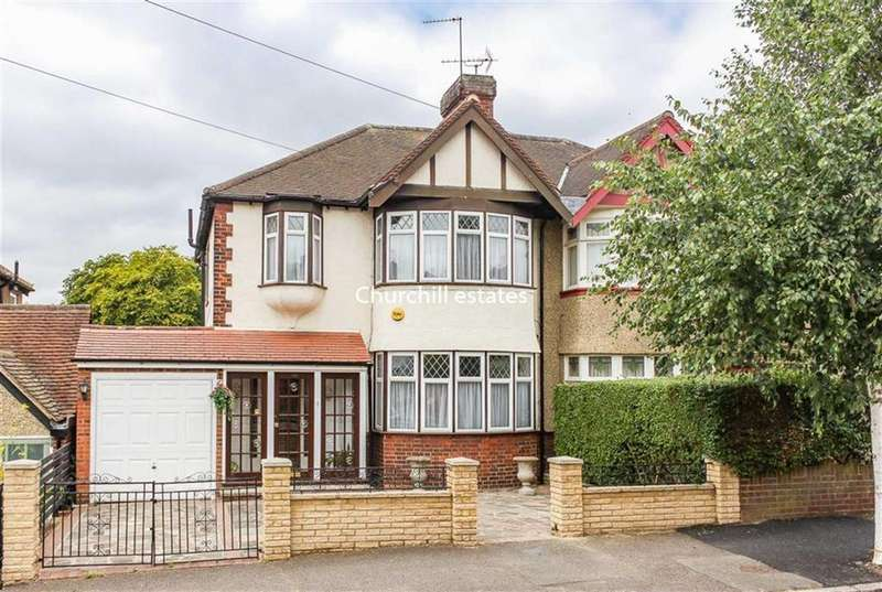3 Bedrooms Semi Detached House for sale in Keynsham Ave, Woodford Green