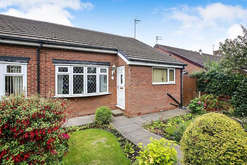 2 Bedrooms Semi Detached Bungalow for sale in Sheffield Road, Hyde, SK14