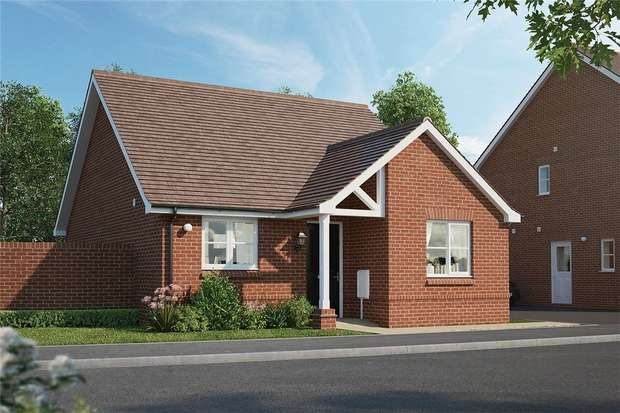 2 Bedrooms Detached Bungalow for sale in The Buxton, Meadow Croft, Houghton Conquest