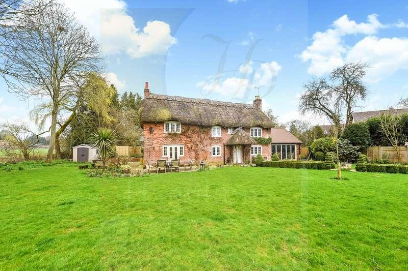 4 Bedrooms Detached House for sale in Salisbury Road, Ower, Romsey