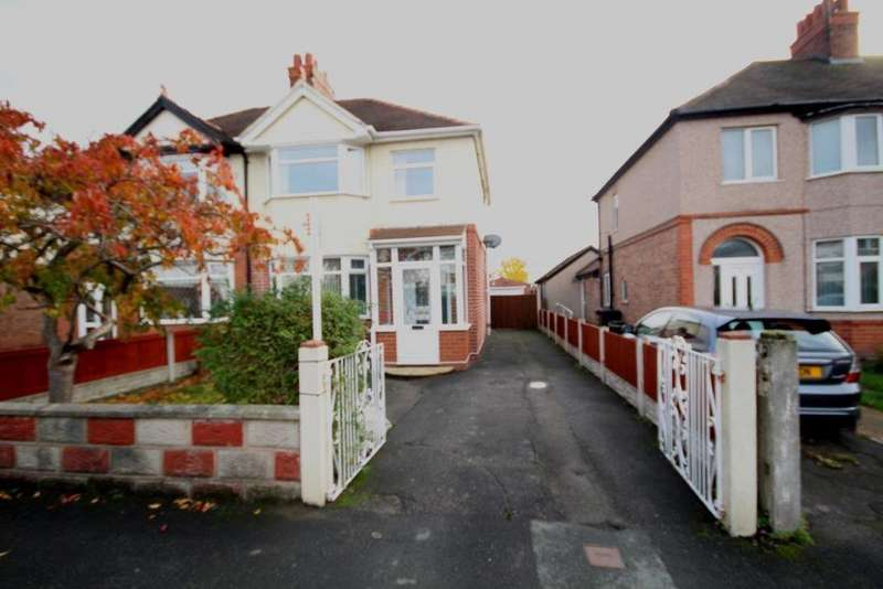 3 Bedrooms Semi Detached House for sale in Park Avenue, Shotton
