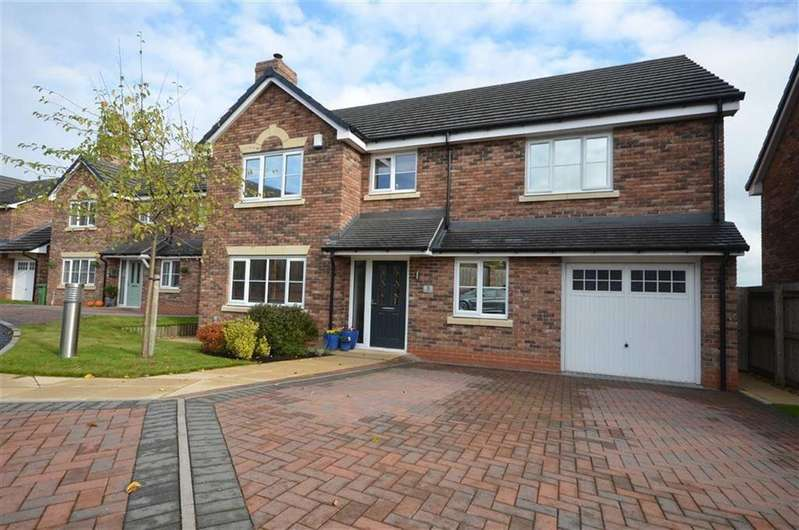 5 Bedrooms Detached House for sale in Hammond Rise, Tittensor