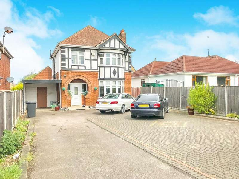 4 Bedrooms Detached House for sale in Scraptoft Lane, Leicester, LE5