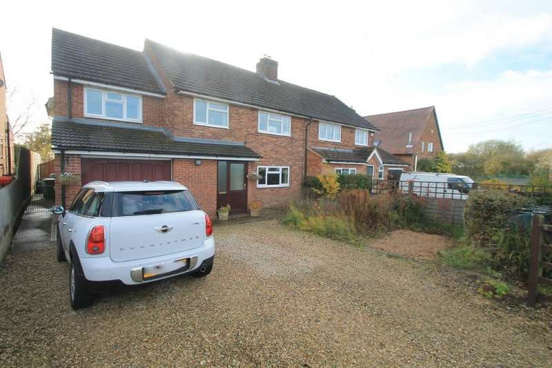 4 Bedrooms Semi Detached House for sale in Carrington Close, Dunton