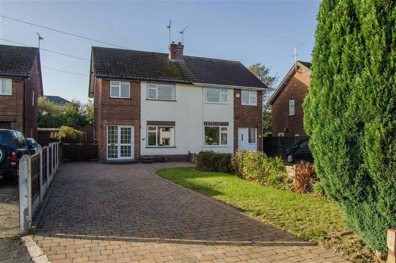 3 Bedrooms Semi Detached House for sale in Boughton Hall Avenue, Boughton, Chester, Chester
