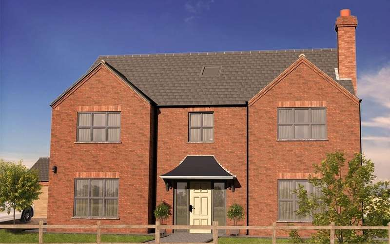 5 Bedrooms Detached House for sale in The Oak, Plot 2, Westfield Park, Louth
