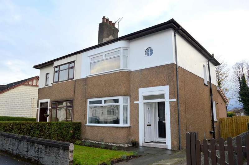 3 Bedrooms Semi Detached House for sale in Geils Avenue, Dumbarton G82 2QH