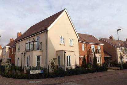 2 Bedrooms Flat for sale in Saturn Way, Biggleswade, Bedfordshire, .