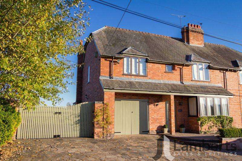 3 Bedrooms Semi Detached House for sale in Brookhouse Lane, Callow Hill.