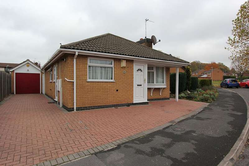 2 Bedrooms Detached Bungalow for sale in Lorrimer Way, Loughborough, Leicestershire, LE11 4FW