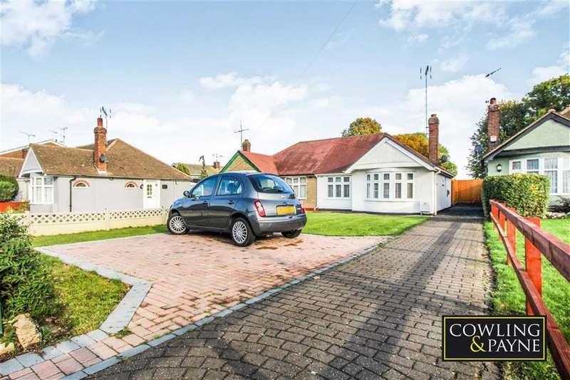 2 Bedrooms Semi Detached Bungalow for sale in Azalea Avenue, Wickford, Essex