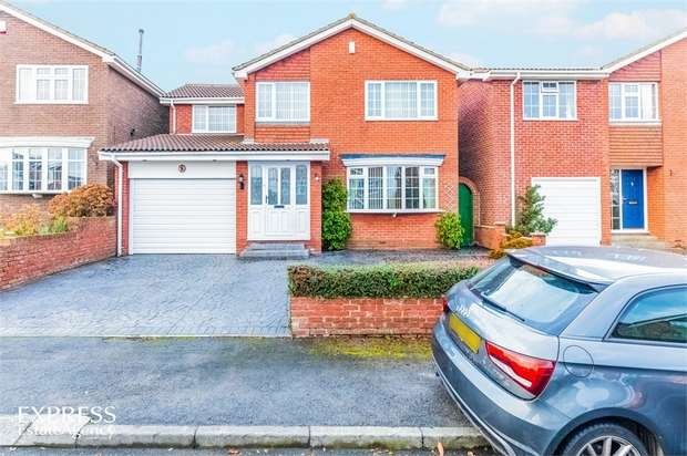 4 Bedrooms Detached House for sale in Woodbrook Close, New Marske, Redcar, North Yorkshire