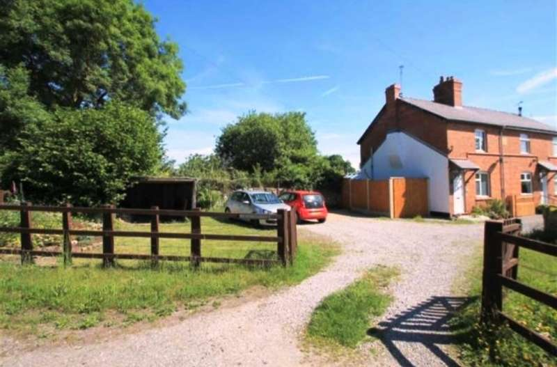 2 Bedrooms Country House Character Property for sale in 2 Berthengron Cottages, Aberoer, Wrexham, Wrexham