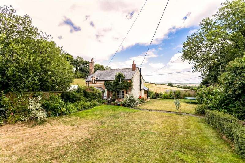 2 Bedrooms Semi Detached House for sale in Hilliers Farm Cottages, St. Mary Bourne, Andover, Hampshire, SP11