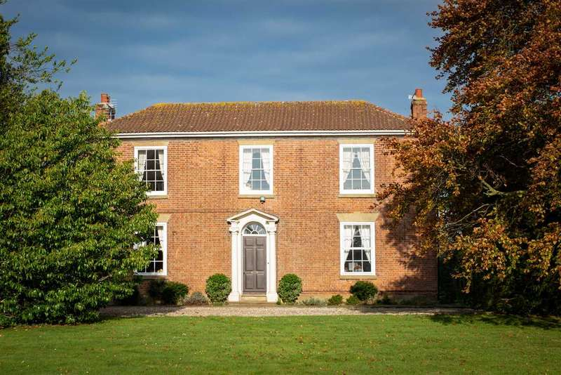 4 Bedrooms Detached House for sale in LITTLE LACEBY FARM, GRIMSBY ROAD, LACEBY, GRIMSBY