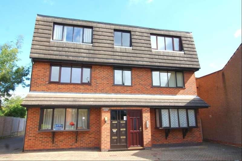 1 Bedroom Flat for sale in Vicarage Court, Earl Shilton, Leicester, LE9