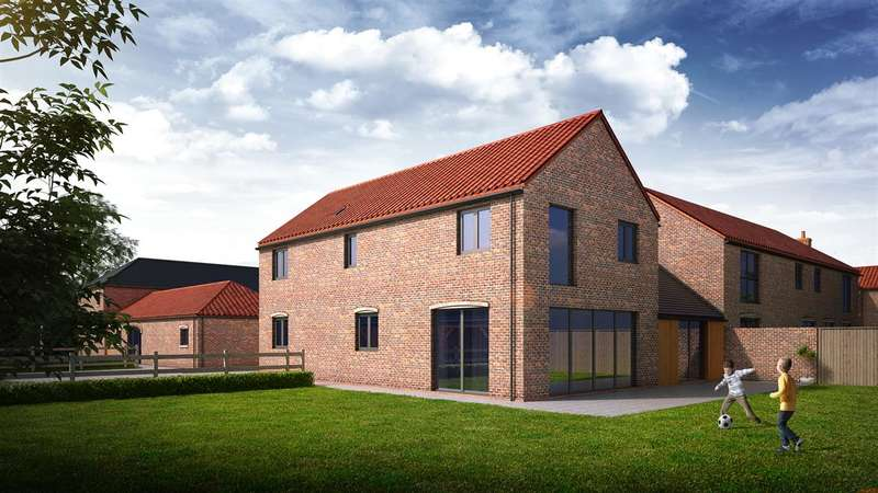 4 Bedrooms Semi Detached House for sale in North View Farm, Gainsborough Road, Middle Rasen