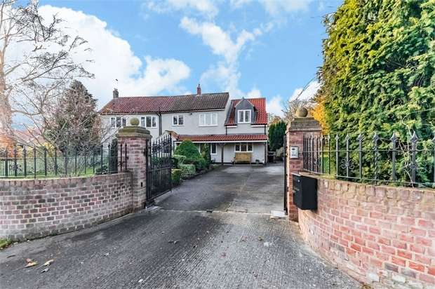 6 Bedrooms Detached House for sale in East Lane, Yafforth, Northallerton, North Yorkshire