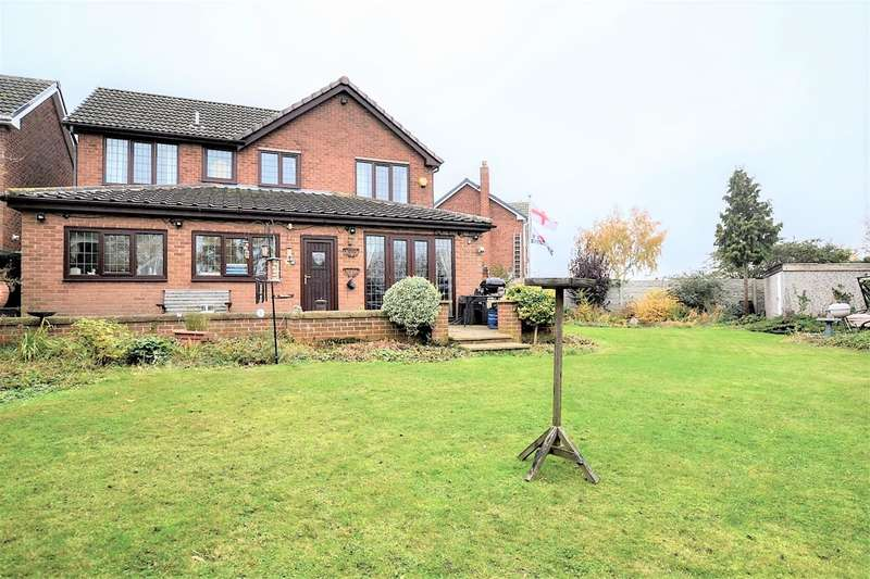 4 Bedrooms Detached House for sale in Sherwood Way, Cudworth, Barnsley, S72 8BH