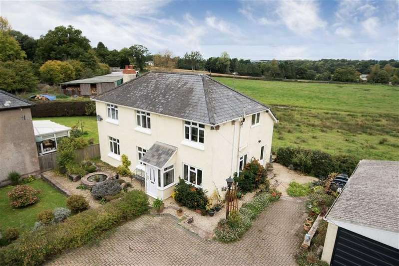 4 Bedrooms Detached House for sale in Smithincott, Uffculme, Cullompton, Devon, EX15