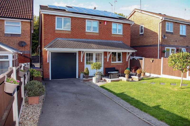 3 Bedrooms Detached House for sale in Leek New Road, (parking accessed off Dairyfields Way), Sneyd Green, Stoke-On-Trent