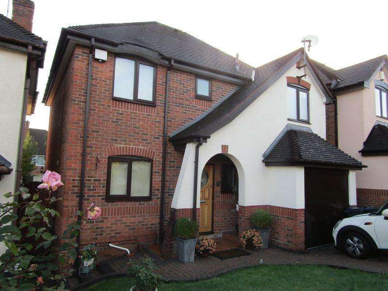 4 Bedrooms Detached House for sale in Nortune Close, Birmingham
