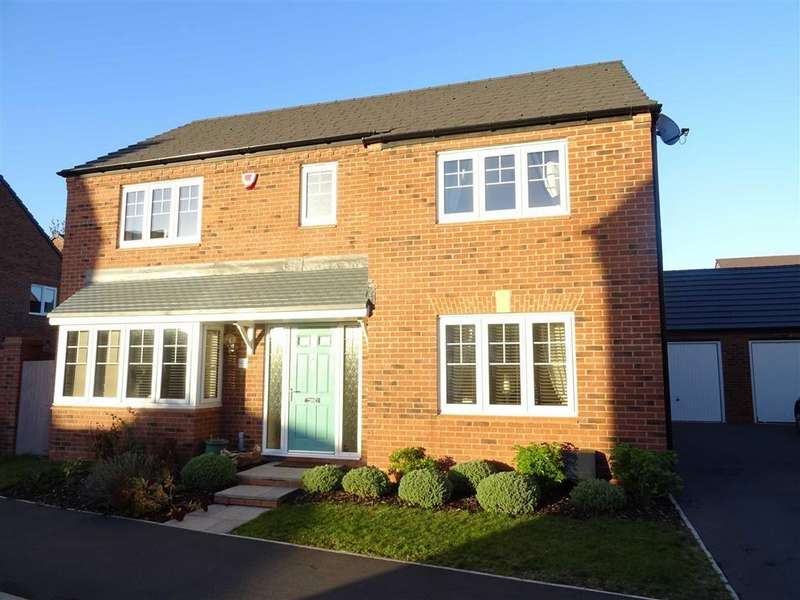 4 Bedrooms Detached House for sale in Coronet Drive, Ibstock