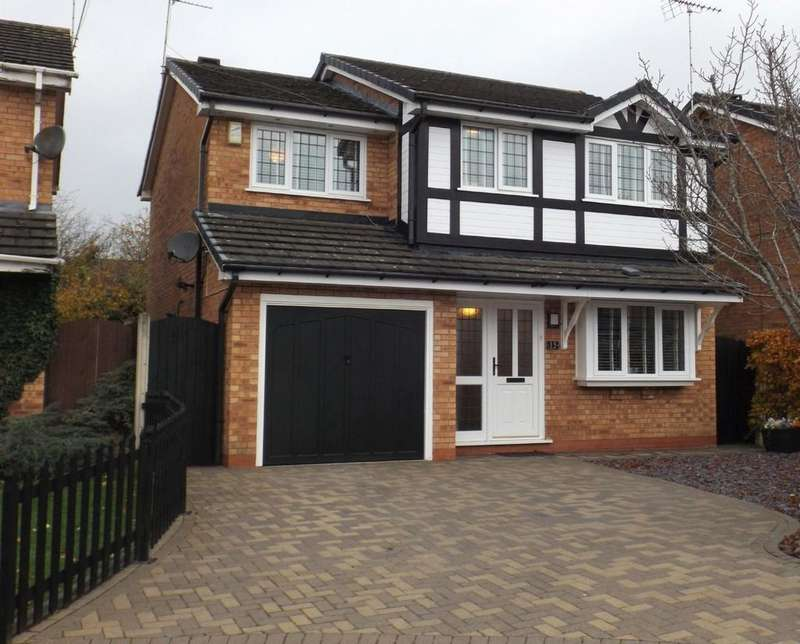 4 Bedrooms Detached House for sale in Burton Grove , Leighton