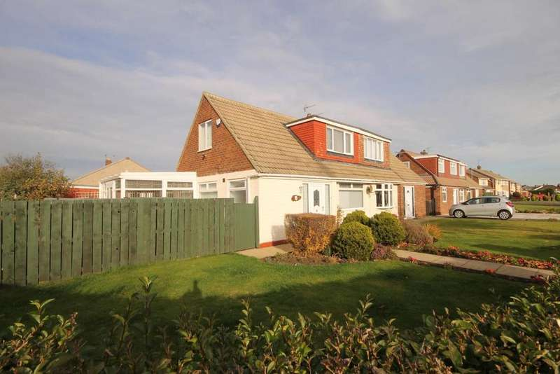 2 Bedrooms Semi Detached Bungalow for sale in Westerdale Road, Seaton Carew, Hartlepool