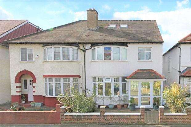5 Bedrooms Semi Detached House for sale in Second Avenue, W3 7RX