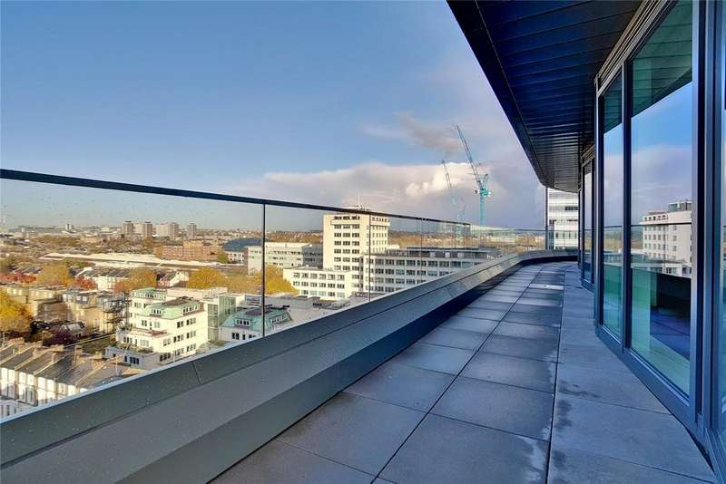 3 Bedrooms Penthouse Flat for sale in Lancaster House, 45 Beadon Road, London, W6