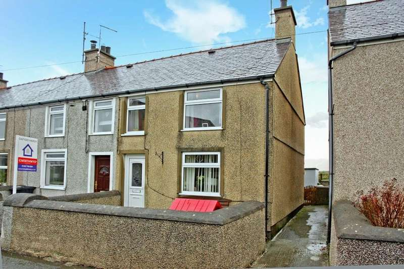 2 Bedrooms End Of Terrace House for sale in Llanfaelog, Anglesey