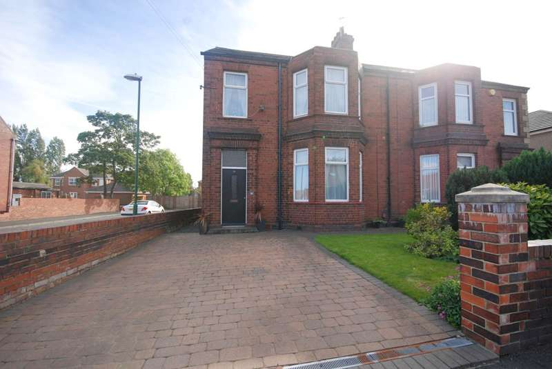 4 Bedrooms Semi Detached House for sale in Wood Terrace, Jarrow