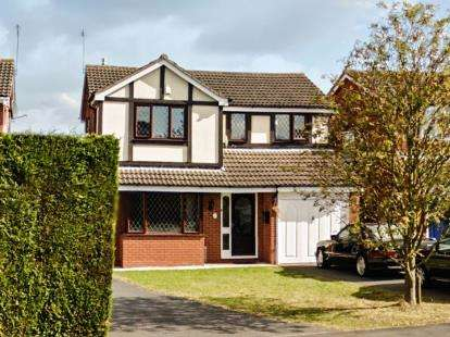 4 Bedrooms Detached House for sale in Beaufort Way, Oadby, Leicester, Leicestershire