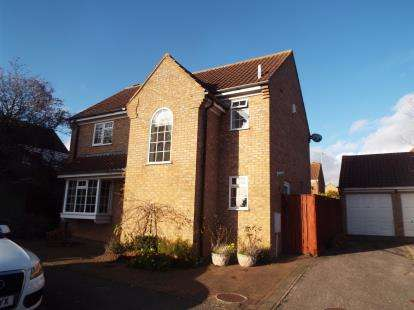4 Bedrooms Detached House for sale in Fyne Drive, Leighton Buzzard, Beds, Bedfordsire