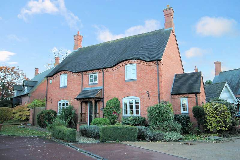 4 Bedrooms Detached House for sale in Rose Bay Cottage, Churchside, Harlaston, B79 9HE