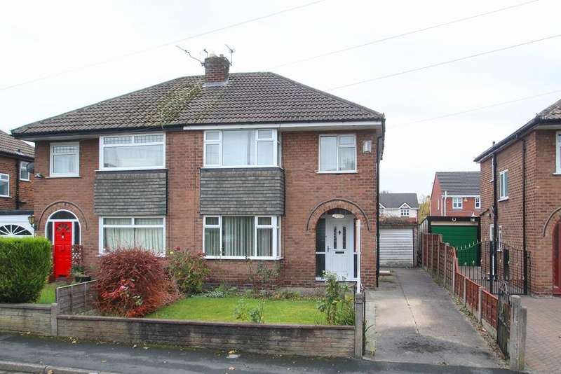 3 Bedrooms Semi Detached House for sale in Orchard Avenue, Partington, Manchester, M31