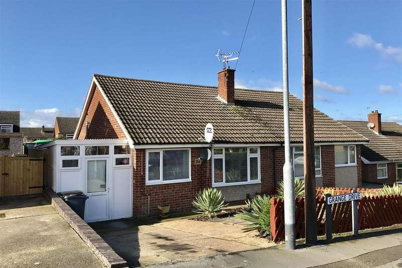 2 Bedrooms Semi Detached Bungalow for sale in Grange Drive, Melton Mowbray