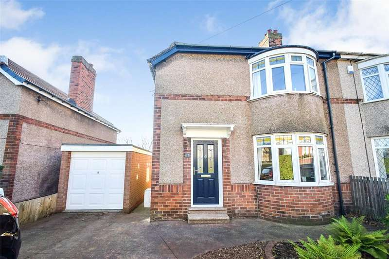 3 Bedrooms Semi Detached House for sale in Church Lane, Murton, Seaham, Co.Durham, SR7
