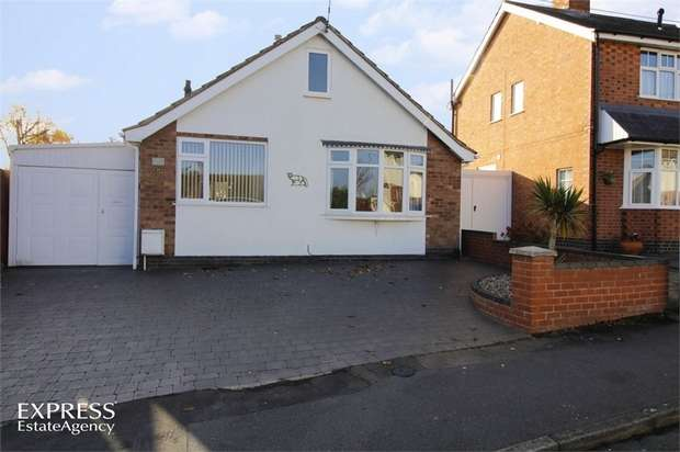 3 Bedrooms Detached Bungalow for sale in James Street, Anstey, Leicester