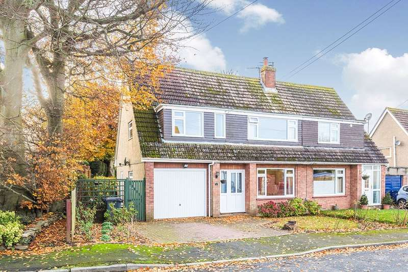 4 Bedrooms Semi Detached House for sale in Highfield Drive, Portishead, Bristol, BS20